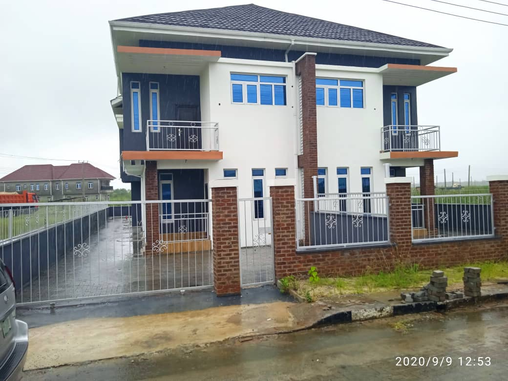Four Bedroom Duplex For Sale in Sangotedo on payment Plan at N44m