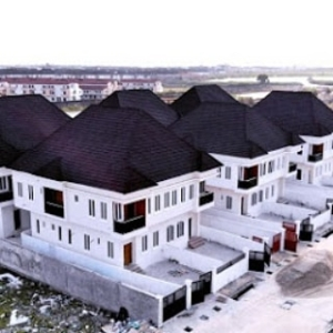 Four bedroom Semi-Detached Duplex for sale at N55m in Ikota on Payment plan